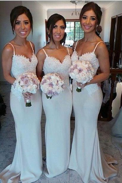 2016 New Style Bridesmaid Dress,Long Bridesmaid Gown,Ivory Bridesmaid Gowns,Mermaid Bridesmaid Dresses,Lace Bridesmaid Gowns,2016 Bridesmaid Dress,Vintage Bridesmaid Gowns