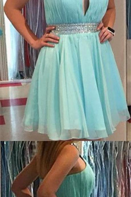 Short Homecoming Dress,Homecoming Dress,Blue Homecoming Dresses,Short Prom Dress