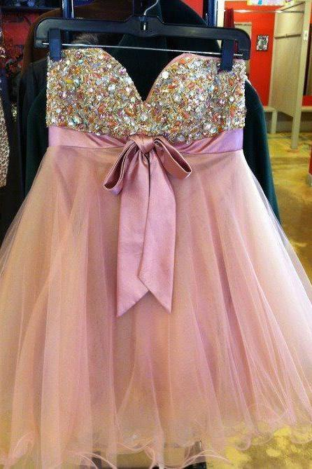 Short Homecoming Dress,Tulle Homecoming Dress,Homecoming Dresses,Short Prom Dress