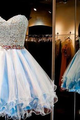 Charming Prom Dress,New Prom Dress, Homecoming Dress,Prom Gown,Short Party Dress