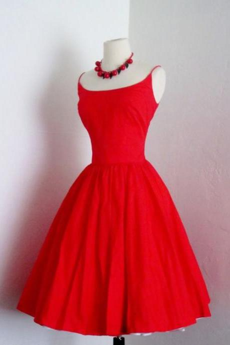 New Arrival Long Prom Dress,Elegant Prom Gown,Red Homecoming Dress,Short Evening Dress