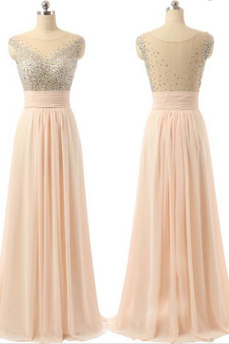 Prom Dress,Long Prom Dresses,Formal Evening Dress,Evening Gown,Chiffon Prom Gown